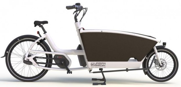 Urban Arrow cargo bike family model 2015
