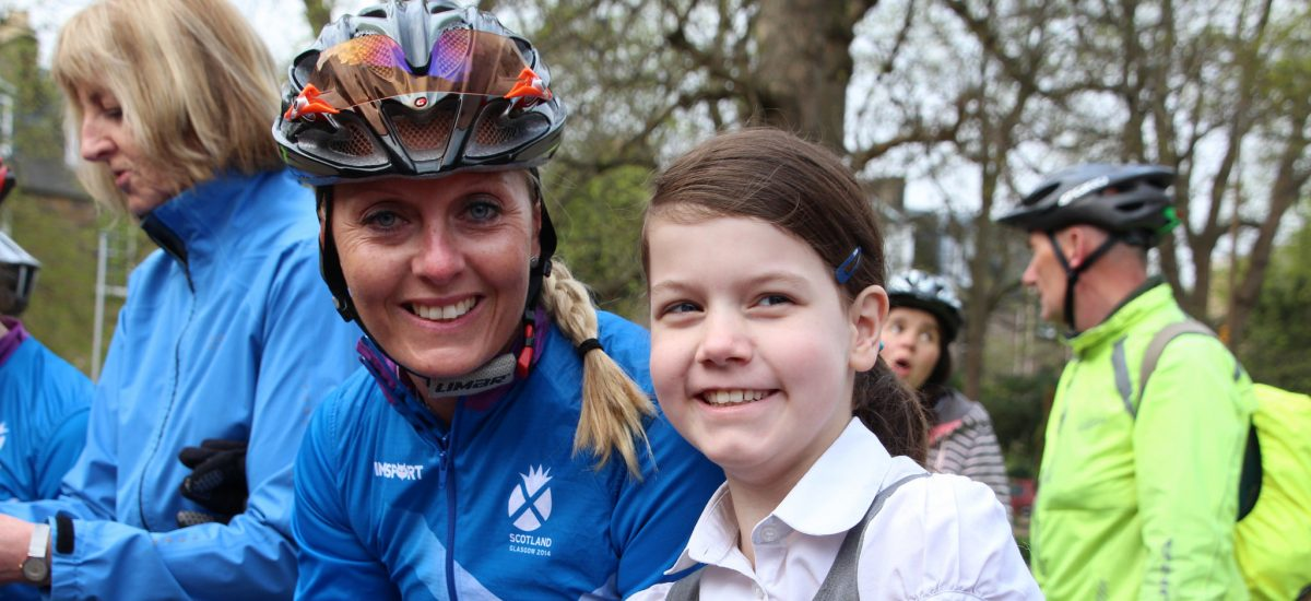 Edinburgh's Cycling Festival - inspiring  medal winning cycle athletes