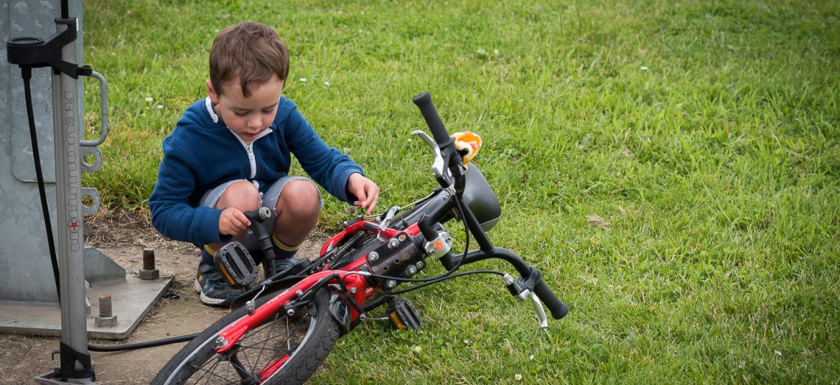 Edinburgh's Cycling Festival -  June 2016 - Bike Curious Family Workshop