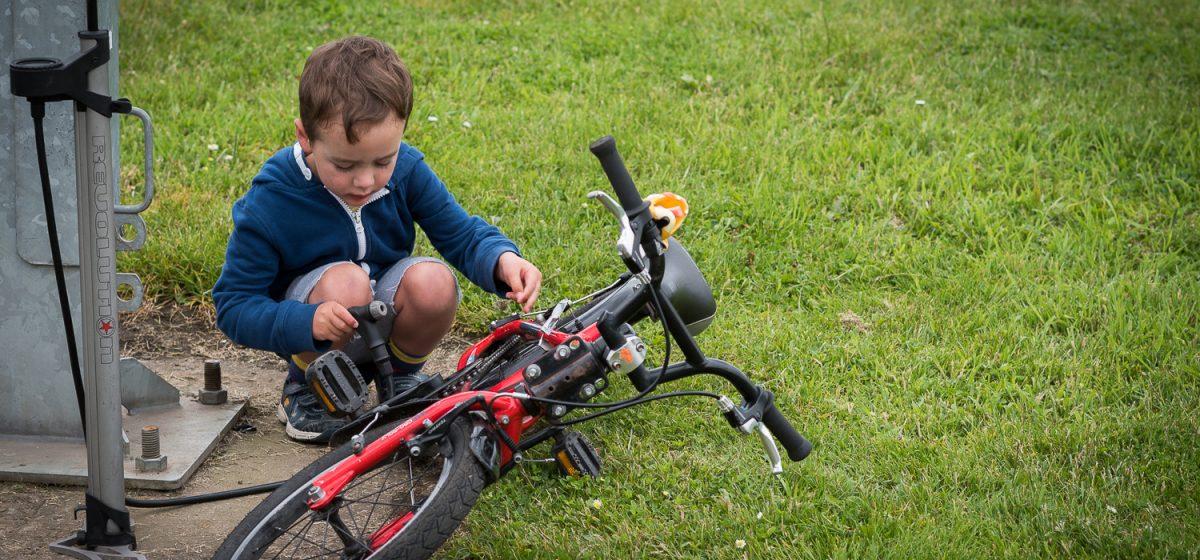 Edinburgh's Cycling Festival -  June 2016 - Bike Curious Family Workshop
