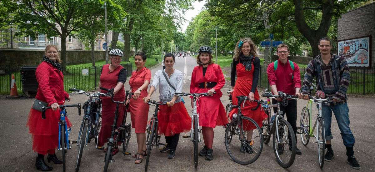 Edinburgh's Cycling Festival -  June 2016 - Cycle Flâneur, Edinburgh
