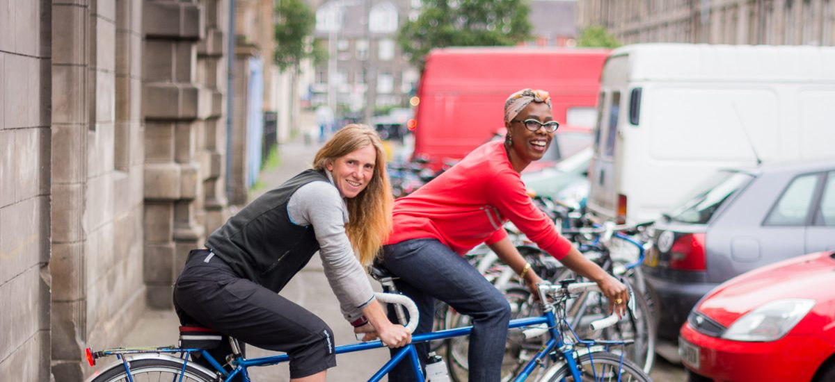 Edinburgh's Cycling Festival -  June 2016 - Women's Cycle Forum, Edinburgh
