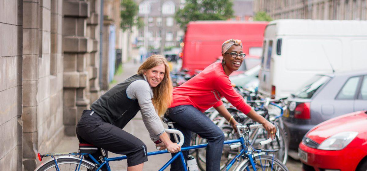 Edinburgh's Cycling Festival -  June 2016 - Women's Cycle Forum, Edinburgh
