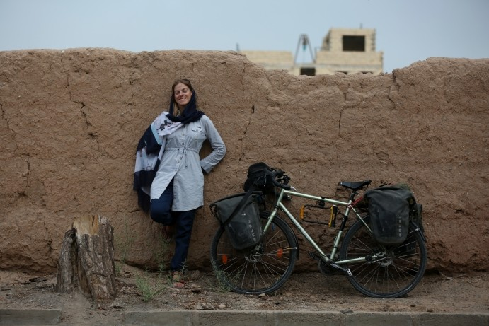 Pedalling against prejudice: one woman's journey through the Middle East