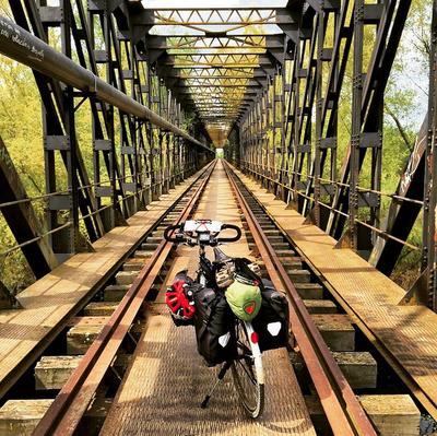 Cycling Europe on a Bike Called Reggie