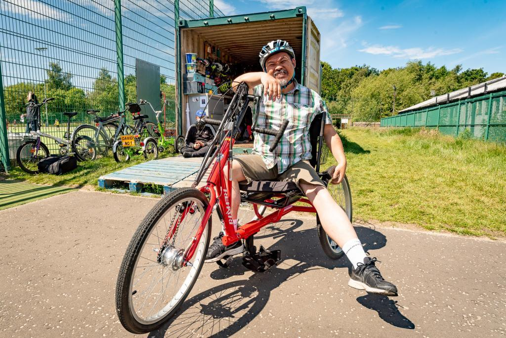 Edinburgh All-ability Bike Centre open afternoon