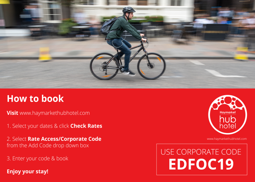Edinburgh Festival of Cycling - CODE INSTRUCTIONS