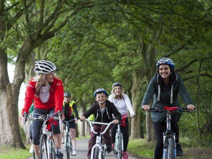 HSBC Breeze bike ride for women: Russell Road to Portobello and Leith